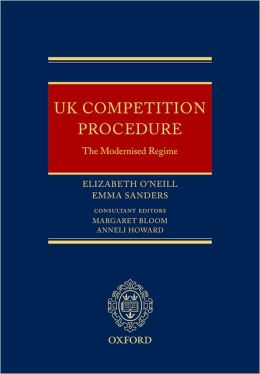 UK Competition Procedure: The Modernised Regime