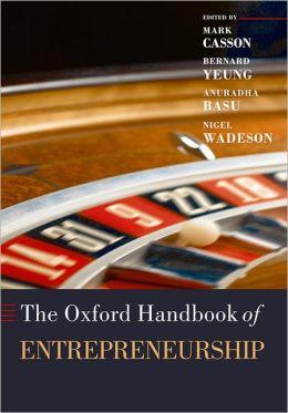 The Oxford Handbook of Entrepreneurship