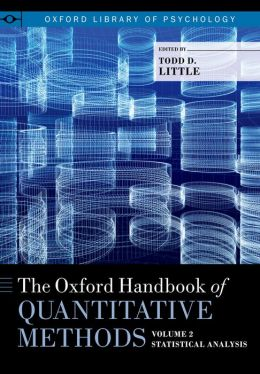 The Oxford Handbook of Quantitative Methods in Psychology, Volume 2