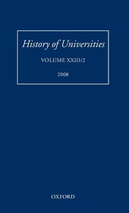 History of Universities: Volume XXIII/2
