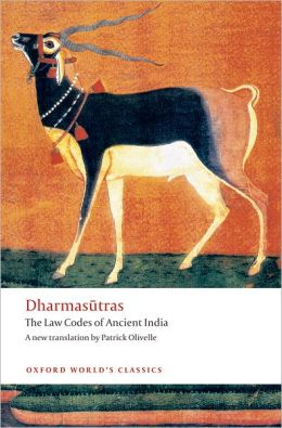 Dharmasutras: The Law Codes of Ancient India
