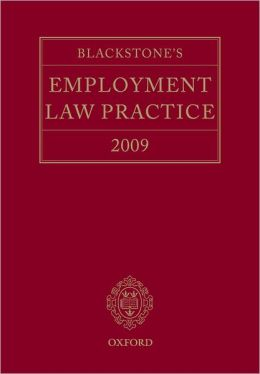 Blackstone's Employment Law Practice 2009