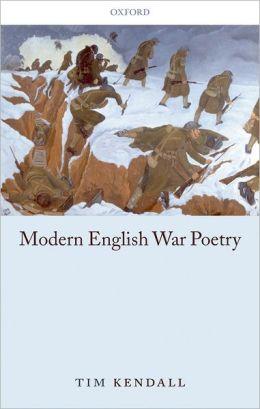 Modern English War Poetry