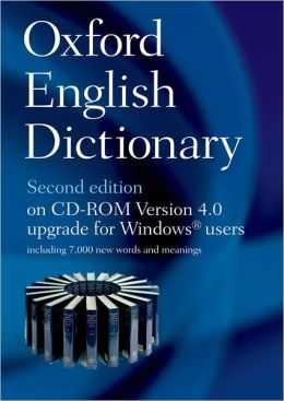 Oxford English Dictionary on CD ROM 4.0 Upgrade