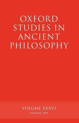 Oxford Studies in Ancient Philosophy, Volume XXXVI