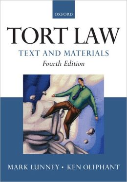 Tort Law: Text and Materials