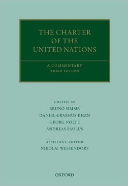 The Charter of the United Nations: A Commentary