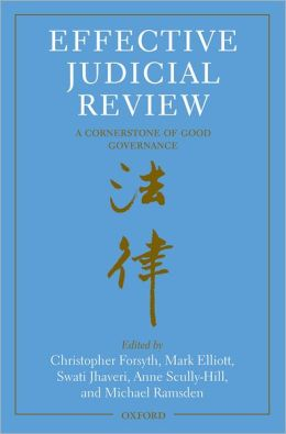 Effective Judicial Review: A Cornerstone of Good Governance