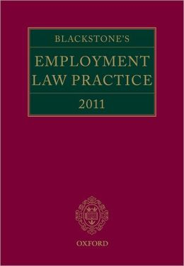 Blackstone's Employment Law Practice 2011
