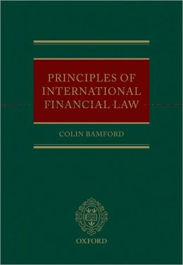 Principles of International Financial Law