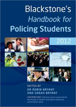 Blackstone's Handbook for Policing Students 2012