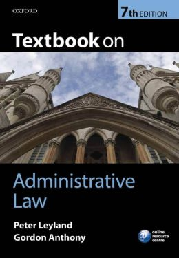 Textbook on Administrative Law