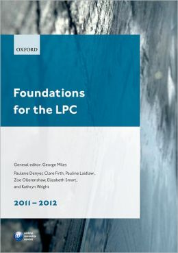 Foundations for the LPC 2011-2012