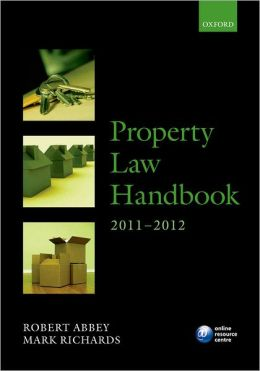 Property Law Handbook 2011-2012