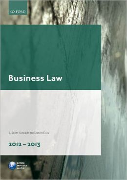 Business Law : 2012-2013