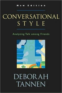 Conversational Style: Analyzing Talk among Friends: Analyzing Talk among Friends