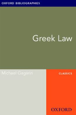 Greek Law: Oxford Bibliographies Online Research Guide
