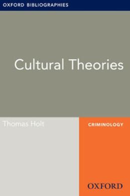 Cultural Theories: Oxford Bibliographies Online Research Guide