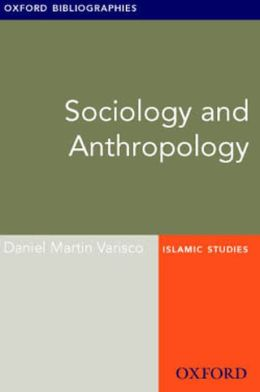 Sociology and Anthropology: Oxford Bibliographies Online Research Guide