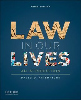 Law in Our Lives: An Introduction