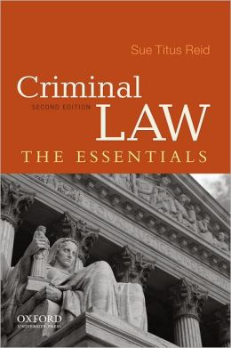 Criminal Law: The Essentials