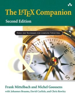 The LaTeX Companion (Addison-Wesley Series on Tools and Techniques for Computer Typesetting)