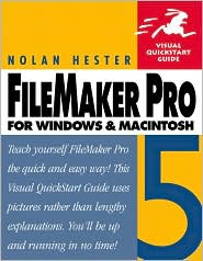 FileMaker Pro 5 for Windows and Macintosh: Visual QuickStart Guide