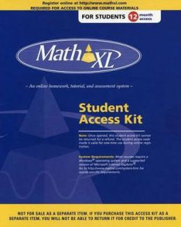 Mathxl-12 Month Student Access Kit