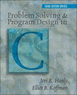 Problem Solving and Program Design in C, Update
