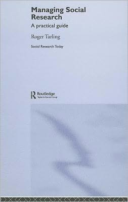 Managing Social Research
