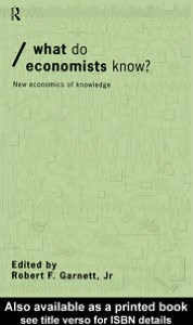 What do Economists Know?