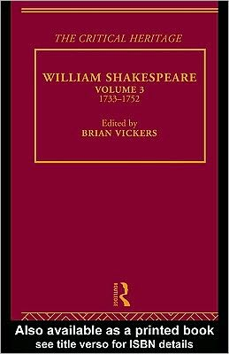 William Shakespeare Vol 3