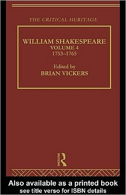 William Shakespeare Vol 4