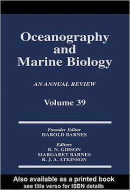 Oceanography and Marine Biology Vol.39
