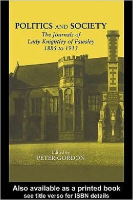 Journals of Lady Knightley of Fawsley 1885-1913