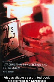 An Introduction to Nutrition and Metabolism, 3rd Edition