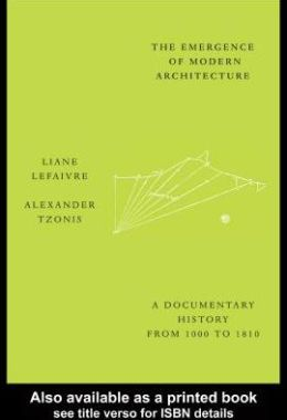 The Emergence of Modern Architecture
