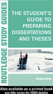 Student's Guide to Preparing Dissertations and ThesesNBNB