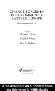 Change Forces in Post-Communist Eastern Europe
