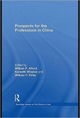Prospects for the Professions in China