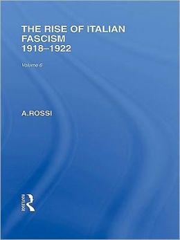 The Rise of Italian Fascism