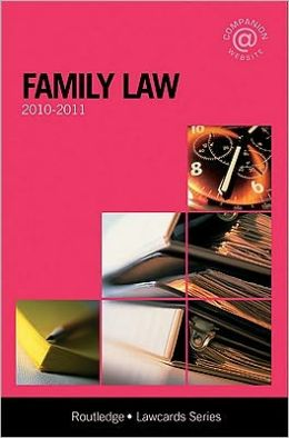 Family Lawcards 2010-2011