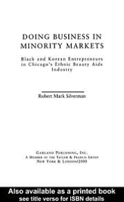 Doing Business in Minority Markets