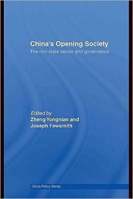 China's Opening Society