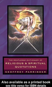 The Routledge Dictionary of Religious and Spiritual Quotations