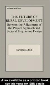 The Future of Rural Development