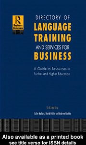 Directory of Language Training and Services for Business