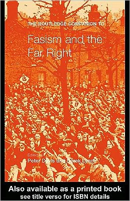 The Routledge Companion to Fascism and the Far Right