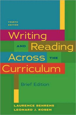 Writing & Reading Across the Curriculum, Brief Edition