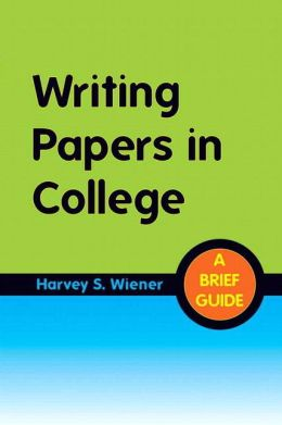 Writing Papers in College: A Brief Guide